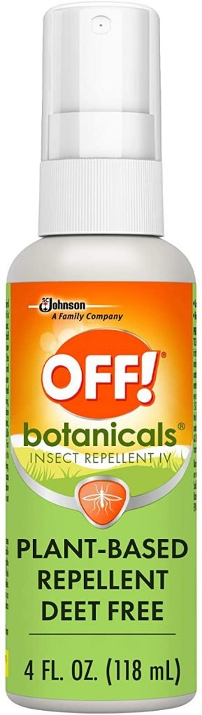 OFF! Botanicals Mosquito and Insect Repellent IV, Plant-Based